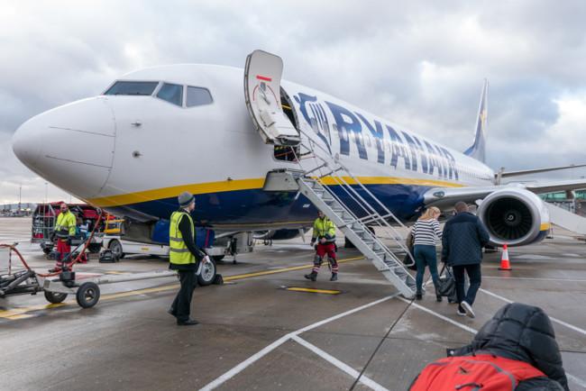 Ryanair объявил распродажу авиабилетов по Европе