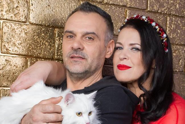 Руслана Писанка с супругом Игорем