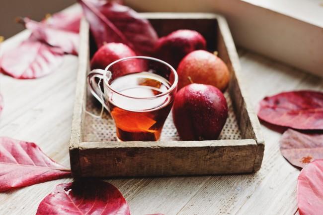 Сбитень с яблоками