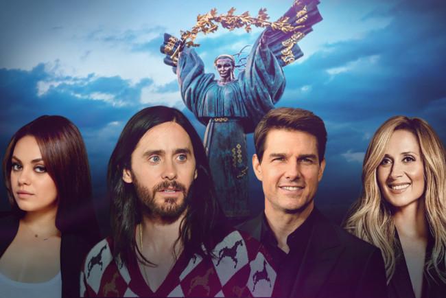 Знаменитості, які відвідали Україну в 2019 році