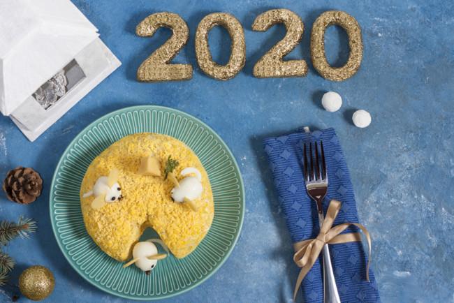 Салат на Новый год 2020