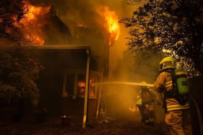 Пожежі в Австралії