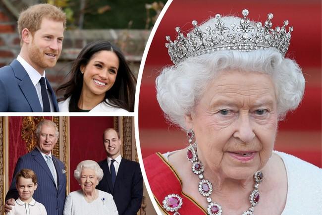 Королева Елизавета ІІ не поддерживает решение герцогов Сассекских