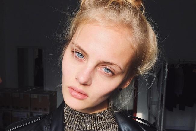 Российская модель Ксения Пунтус