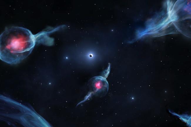 Считается, что подобные объекты крайне редки во Вселенной