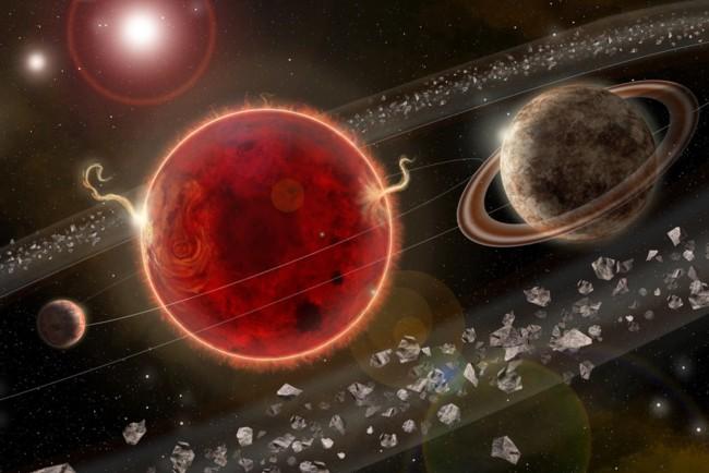 Проксима Центавра очень близка к нашей Солнечной системе