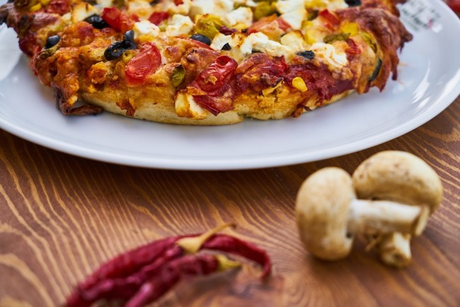 Піца на кефірі в духовці