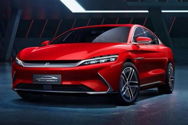 BYD Han будет самым роскошным седаном автопроизводителя