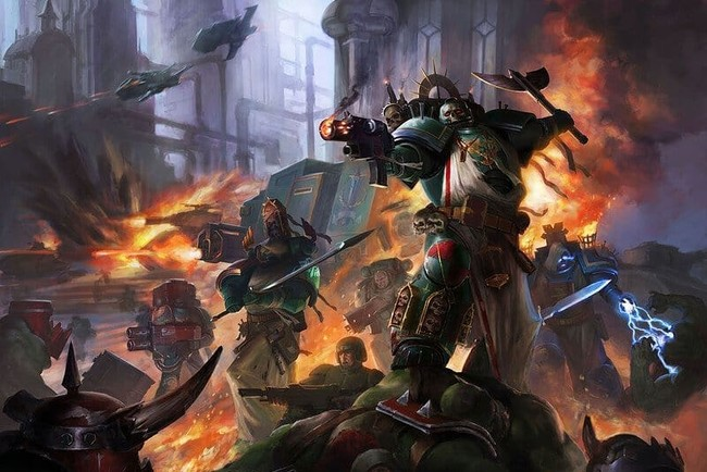 Иллюстрация к игре Warhammer 40,000