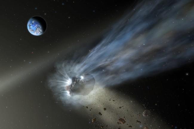 Кометі не встигли дати ім'я