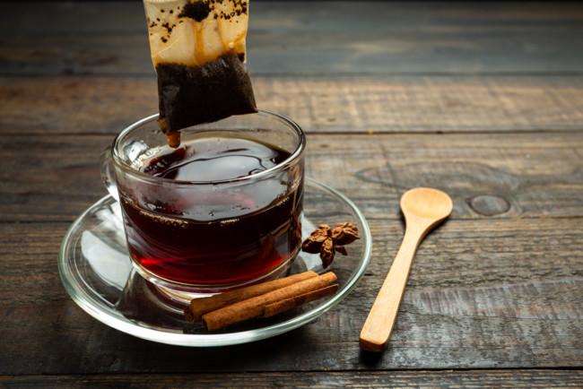 Черный чай обладает тонизирующими свойствами