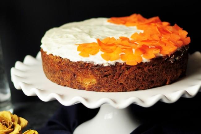Морквяний пиріг в духовці