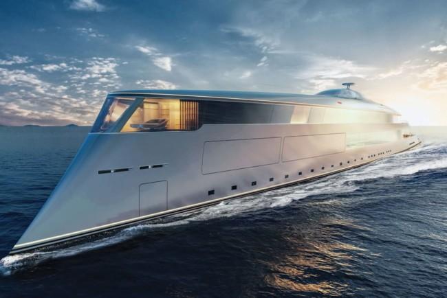 Розкішна, дорога і екологічна яхта Aqua