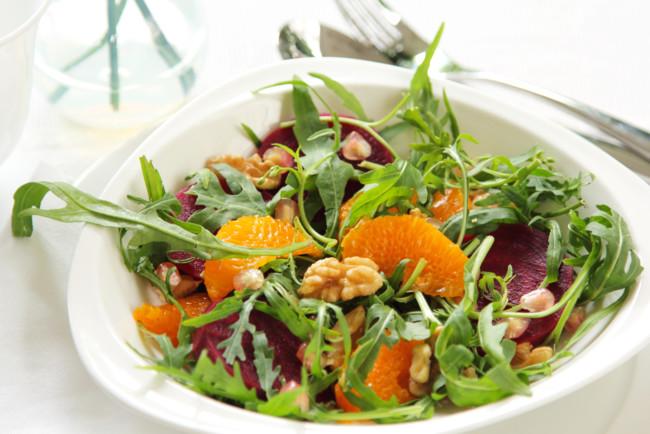 Салат з буряка і апельсинів