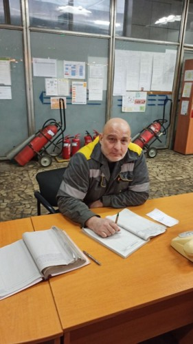 Александр Шалыгин, старший машинист энергоблоков на ДТЭК Запорожской ТЭС