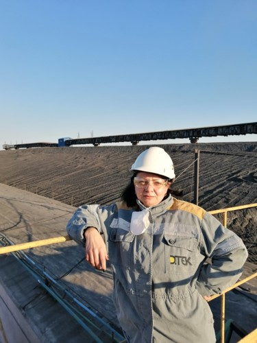 Таисия Тесля, машинист подачи топлива в топливно-транспортном цеху, ДТЭК Кураховская ТЭС