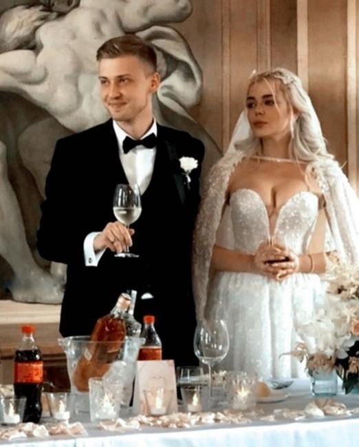 Аліна Гросу з чоловіком Олександром