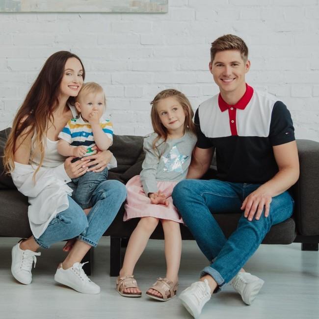 Владимир Остапчук с семьей