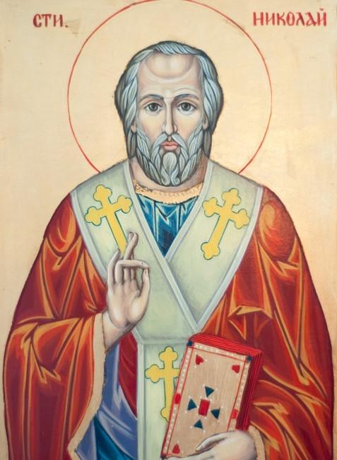 Святой Николай Угодник – икона