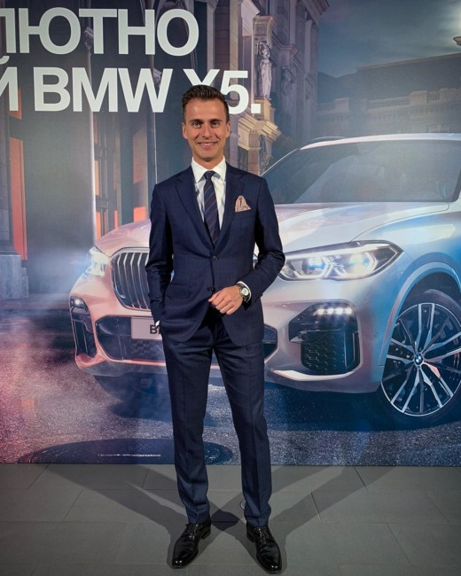 Любимая марка Александра Скичко – BMW