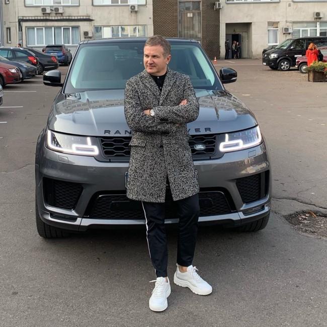 Фаворит Юрия Горбунова – Range Rover