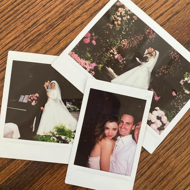 Весілля з мільярдером: Міранда Керр поділилася архівними фото урочистостей