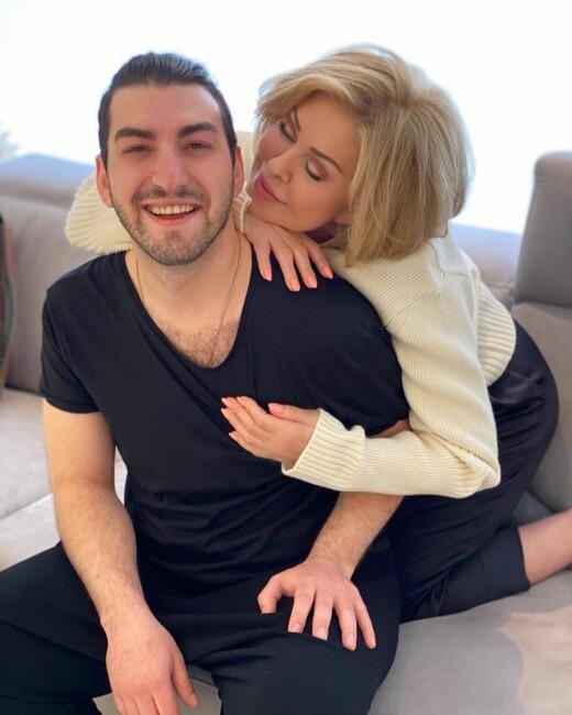 """Любов Успенська вперше прокоментувала чутки про роман з 27-річним грузинським співаком: """"Я закохана"""""""