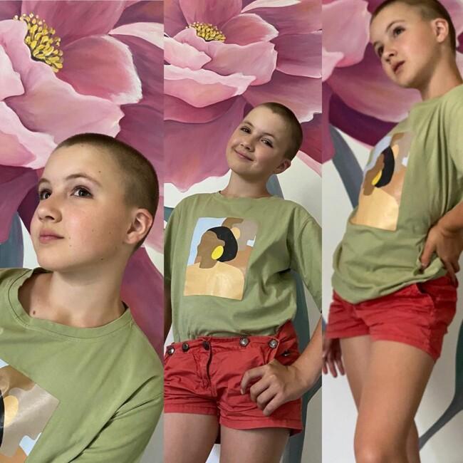 10-річна дочка відомої української ведучої поголила голову: фото шокує