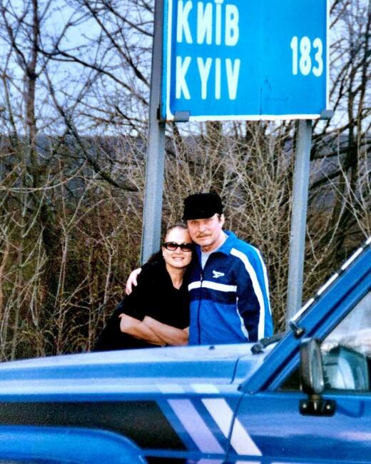 Руслан Евдокименко показал фото родителей