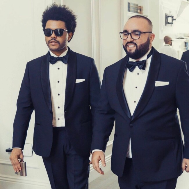The Weeknd и его менеджер Вассим Слейби