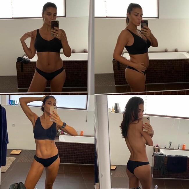 Санта Димопулос рассказала, как похудела на 15 кг фото до и после