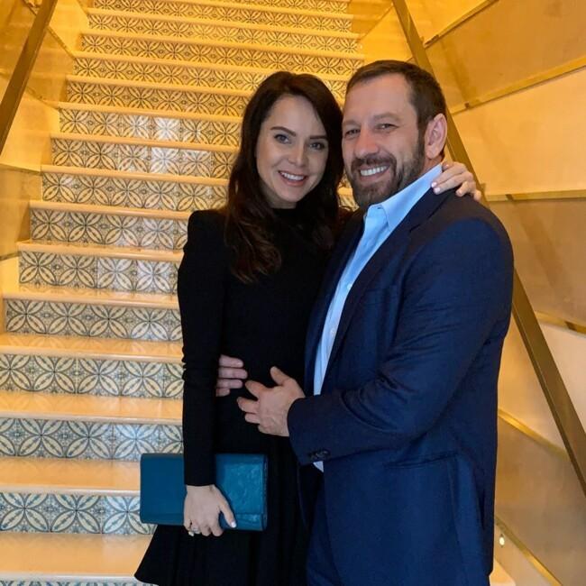 Лилия Подкопаева с мужем Игорем