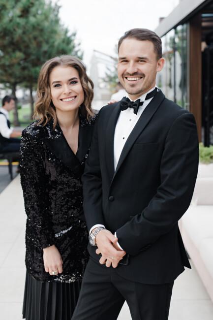 Как организовать сказочное осенняя свадьба: разбираем за трендами торжество Владимира и Кристины Остапчук