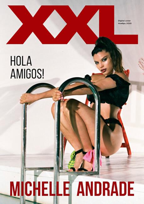 Полуобнаженная Michelle Andrade снялась в эротической фотосессии для мужского глянца фото