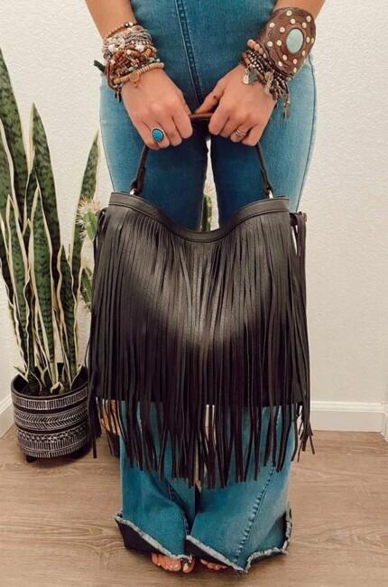 Сумки с бахромой, Самые модные сумки зимы 2021: бахрома и животный принт