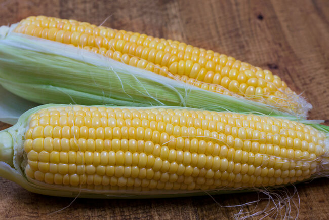 Кукуруза молочной спелости варится очень быстро