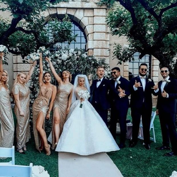 Весілля Аліни Гросу