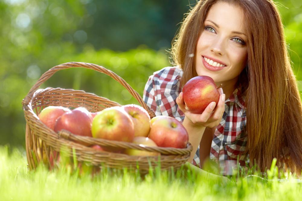Яблоки помогут похудеть