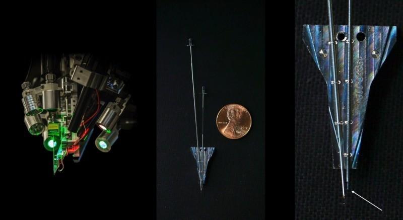 Пристрій для вживлення пристрою в мозок людини