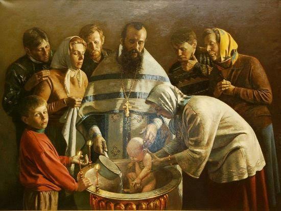 Святое омовение. Крестили с молитвами, а имя до этого малышам не давали