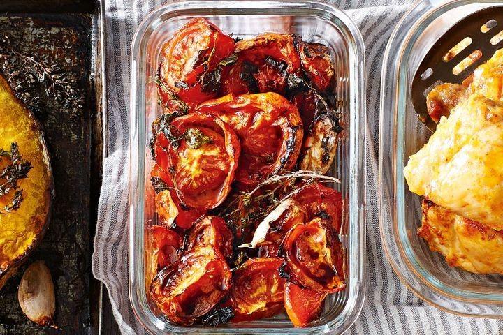 Запеченные овощи с бальзамическим уксусом