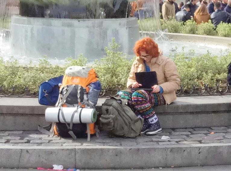 Багаж. Путешествие с рюкзаками и палаткой за плечами. Фото: из архива С. Полторака