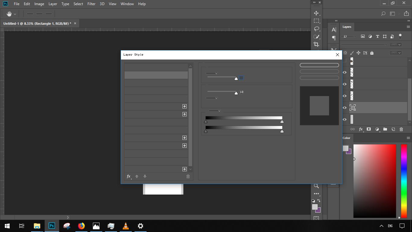 Вот так выглядит Adobe Photoshop после обновления – отсутствует текст элементов меню