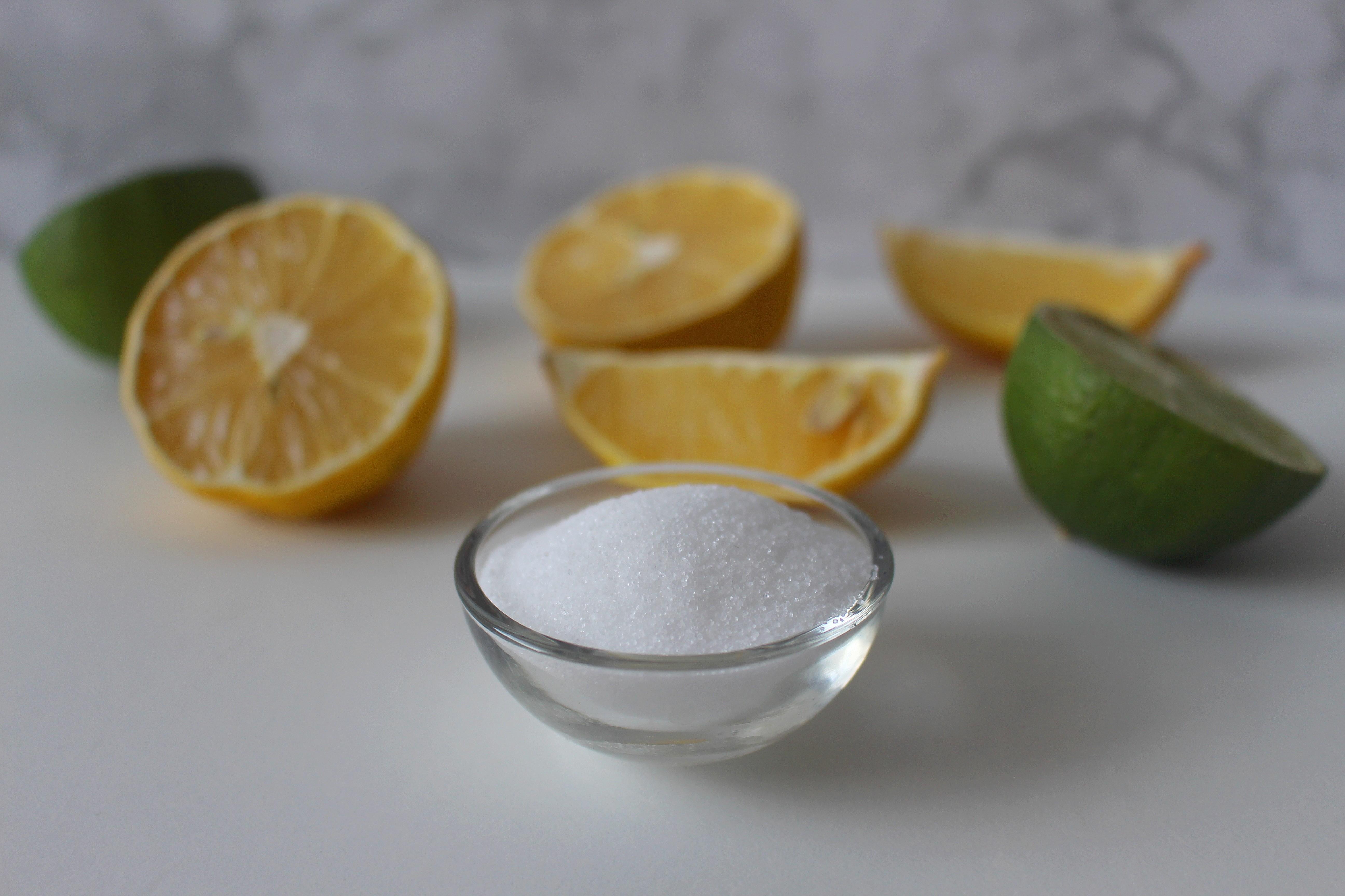 Лимонная кислота вредна для кожи и желудка