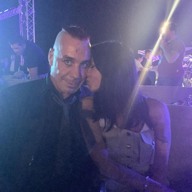 Ирина Горовая с Тиллем Линдеманном