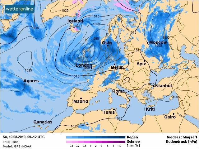 Летний зной вернулся в Украину: карты температур и осадков на неделю, фото-1