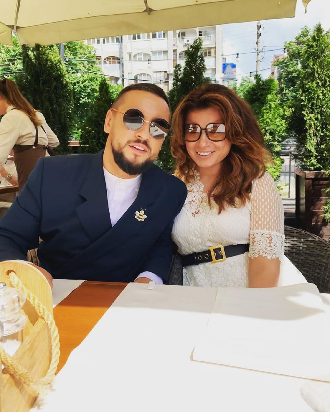 MONATIK з дружиною Іриною