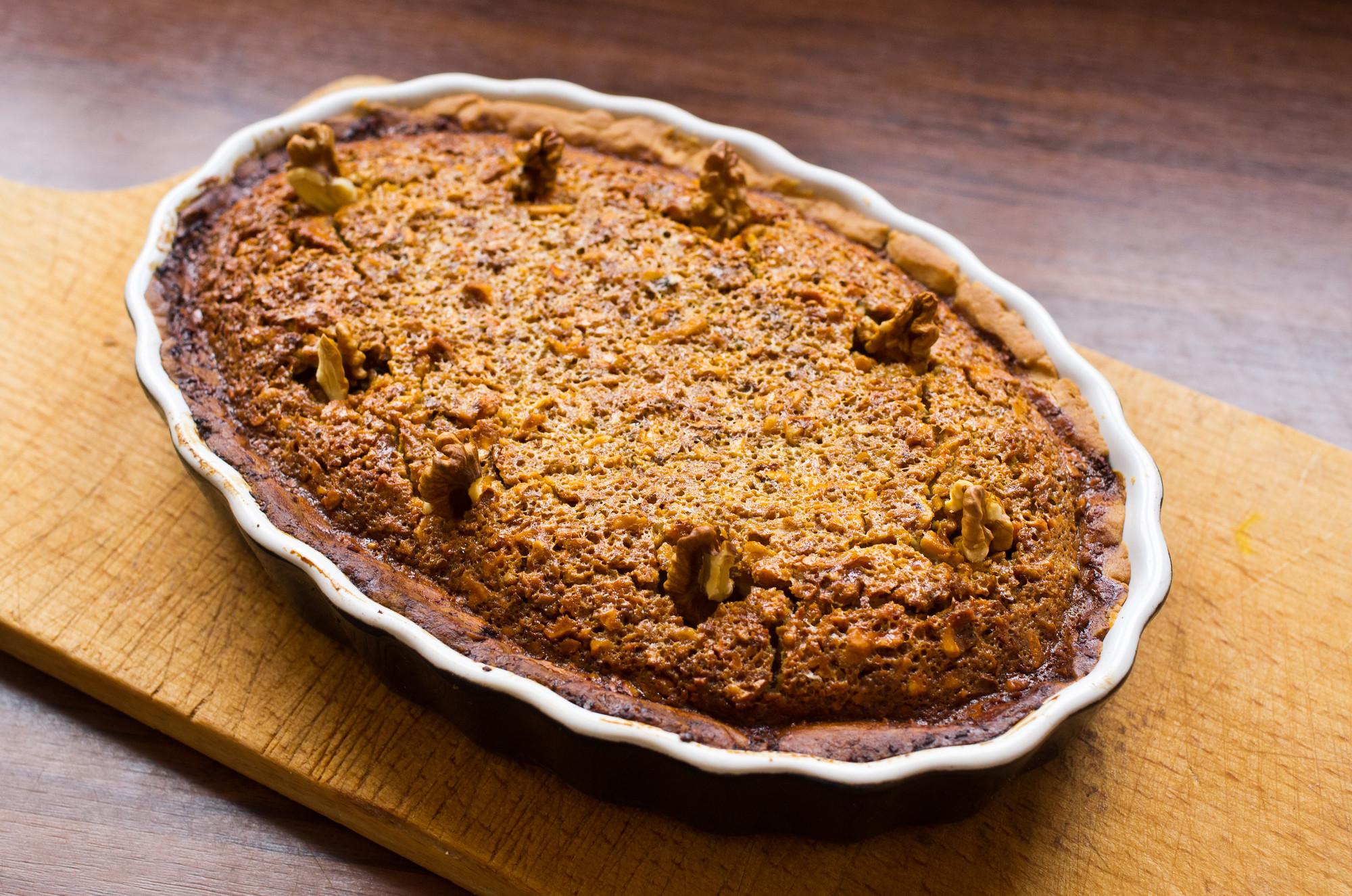 Рецепт орехового пирога на Спас