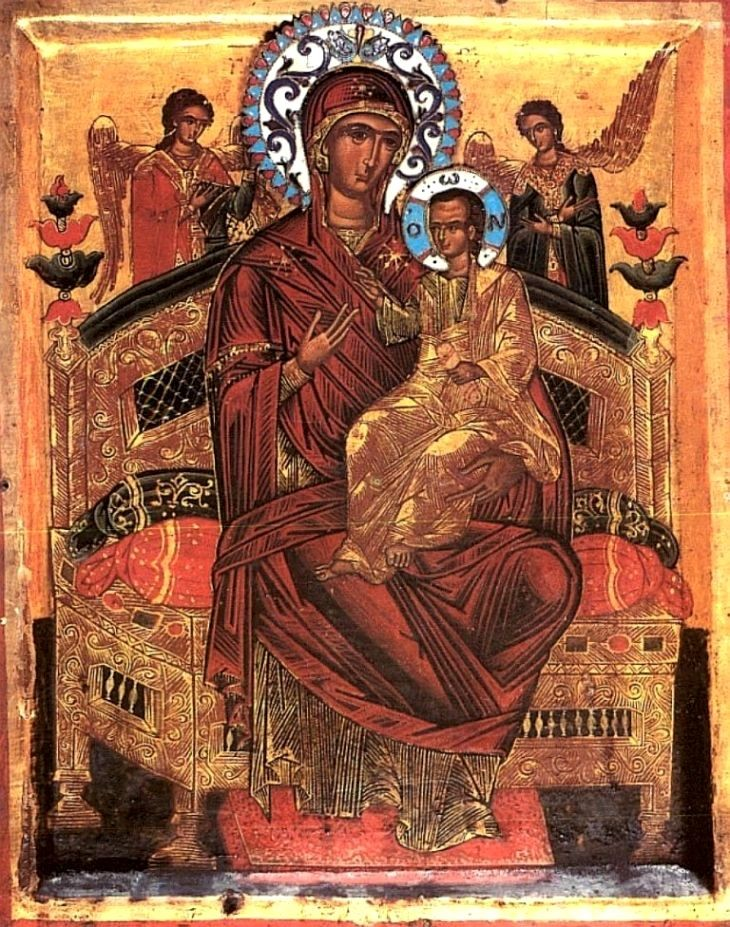 Ікона Божої Матері Всецариця: дата, історія і значення свята