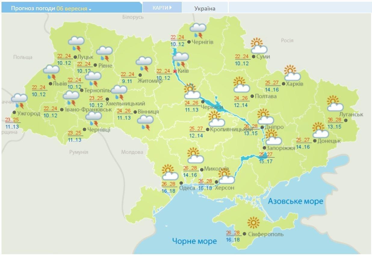 Дожди и похолодание: прогноз погоды на первую неделю осени, фото-5